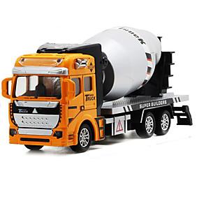baratos Carrinhos de Brinquedo & Miniaturas-Caminhão Veiculo de Construção Escavadeiras Caminhões & Veículos de Construção Civil Carros de Brinquedo Modelo de Automóvel 1: 160 Simulação Plástico 1 pcs Crianças Para Meninos Para Meninas
