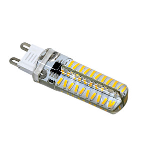 abordables Luces LED de Doble Pin-HKV 1pc 5 W Luces LED de Doble Pin 400-500 lm G9 G4 G8 T 80 Cuentas LED SMD 4014 Regulable Blanco Cálido Blanco Fresco 220 V 110 V / 1 pieza / Cañas