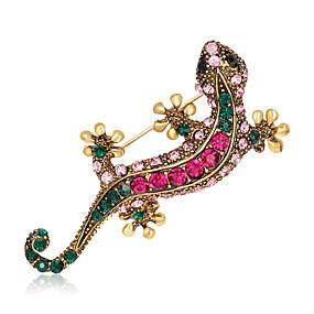 billige Smykker & Ure-Dame Brocher Rhinsten Dyr Mode Euro-Amerikansk Broche Smykker Udvalgte Farver Til Bryllup Fest Speciel Lejlighed Daglig
