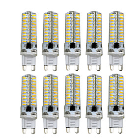 abordables Luces LED de Doble Pin-HKV 10pcs 5 W Luces LED de Doble Pin 400-500 lm G9 G4 G8 T 80 Cuentas LED SMD 4014 Regulable Blanco Cálido Blanco Fresco 220 V 110 V / 10 piezas / Cañas