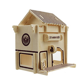olcso Modellek és építőjáték-3D építőjátékok Móka Fa Klasszikus Gyermek Uniszex Játékok Ajándék