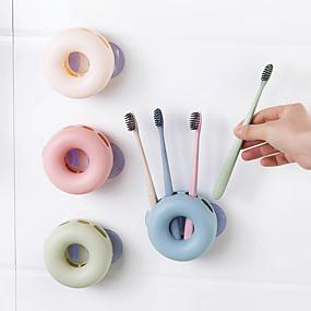 povoljno Gadgeti za kupaonicu-moderna vrsta plutača tipa polipropilenski zidni nosač četke (slučajne boje)
