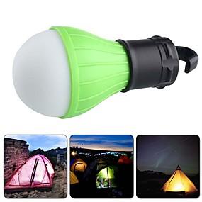 olcso Zseblámpák-Lámpások & Kempinglámpák LED Sugárzók 60 lm 3 világítás mód Mini Sürgősségi Kis méret Kempingezés / Túrázás / Barlangászat Mindennapokra Több funkciós Piros Zöld Kék