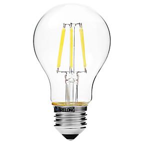 Χαμηλού Κόστους Λαμπτήρες LED με νήμα πυράκτωσης-βραχιόλι 1 τετραγωνικό 6w e27 6μελείς λαμπτήρες πυρακτώσεως a60 (a19) ac220white / warm white