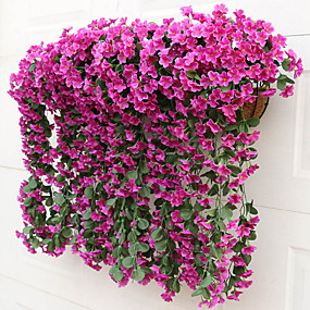 preiswerte Künstliche Blumen-Künstliche Blumen 1 Ast Pastoralen Stil Pflanzen Wand-Blumen
