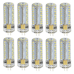 abordables Luces LED de Doble Pin-10pcs 3 W Luces LED de Doble Pin 180 lm G4 T 81 Cuentas LED SMD 3014 Blanco Cálido Blanco Fresco 85-265 V / 10 piezas