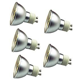 Недорогие Точечное LED освещение-5 шт. 3 W Точечное LED освещение 280 lm GU10 30 Светодиодные бусины SMD 5050 Декоративная Тёплый белый Холодный белый 12 V