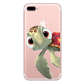 cheap Daily Deals-Case For Apple iPhone X / iPhone 8 / iPhone XS Transparent / Pattern Back Cover Animal Soft TPU for iPhone XS / iPhone XR / iPhone XS Max