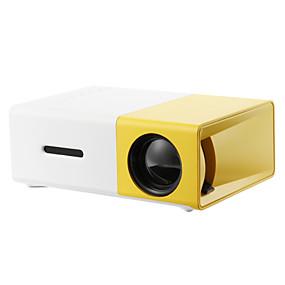 billige Projektorer-LCD Miniprojektor LED Projektor 2000 lm Support SVGA (800x600) 20 inch Skærm / HVGA (480x320) / ±15°
