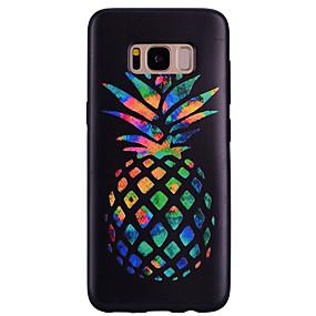 voordelige Galaxy S7 Hoesjes / covers-hoesje Voor Samsung Galaxy S8 Plus / S8 / S7 edge Patroon Achterkant Fruit Zacht Siliconen