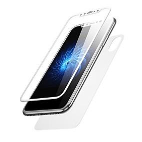 billige Skærmbeskyttelse Til iPhone X-Skærmbeskytter for Apple iPhone X Hærdet Glas 2 Stk. Front- og rygbeskyttelse High Definition (HD) / 9H hårdhed / Ultratynd