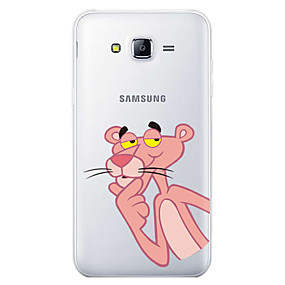 voordelige Galaxy J7 Hoesjes / covers-hoesje Voor Samsung Galaxy J7 (2017) / J7 (2016) / J7 Patroon Achterkant Cartoon Zacht TPU