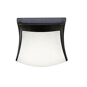 ieftine Becuri Solare LED-1 buc 2 W Lumini Solare LED Iluminat LED Cupă / Rezidențial / Exterior 3 LED-uri de margele