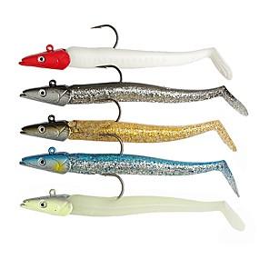 ieftine Momeală Pescuit-5 pcs Δόλωμα Jig Head PVC Plutire Pescuit mare Aruncare Momeală Pescuit de Apă Dulce / Momeală pescuit / Pescuit în General / Pescuit cu undițe tractate & Pescuit din barcă