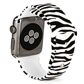 abordables Accessoires Apple-Bracelet de Montre  pour Apple Watch Series 4/3/2/1 Apple Bracelet Sport Silikon Sangle de Poignet