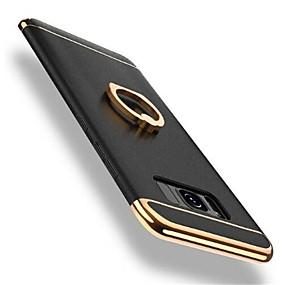 halpa Galaxy S -sarjan kotelot / kuoret-Etui Käyttötarkoitus Samsung Galaxy S8 Plus / S8 Iskunkestävä / Pinnoitus / Sormuksen pidike Takakuori Yhtenäinen Kova PC varten S8 Plus / S8