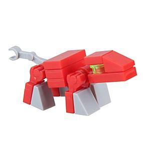 olcso Játékok & hobbi-Építőkockák Építési készlet játékok Fejlesztő játék 16 pcs Klasszikus téma Dinoszaurus Állat összeegyeztethető Legoing Stressz és szorongás oldására Dekompressziós játékok Szülő-gyermek interakció