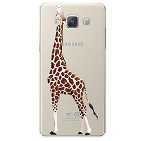 voordelige Galaxy A5(2016) Hoesjes / covers-hoesje Voor Samsung Galaxy A3 (2017) / A5 (2017) / A7 (2017) Patroon Achterkant dier / Cartoon Zacht TPU