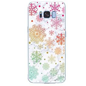 voordelige Galaxy S7 Edge Hoesjes / covers-hoesje Voor Samsung Galaxy S8 Plus / S8 / S7 edge Patroon Achterkant Tegel / Marmer Zacht TPU