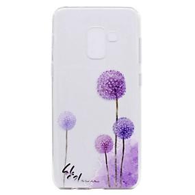 voordelige Galaxy A5(2016) Hoesjes / covers-hoesje Voor Samsung Galaxy A3 (2017) / A5 (2017) / A7 (2017) Transparant / Patroon Achterkant Paardebloem Zacht TPU