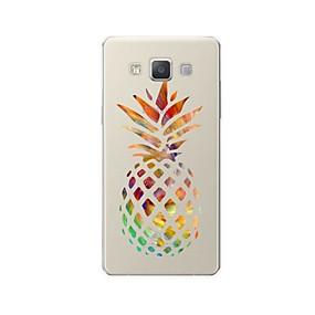 voordelige Galaxy A7(2016) Hoesjes / covers-hoesje Voor Samsung Galaxy A3 (2017) / A5 (2017) / A7 (2017) Patroon Achterkant Cartoon / Fruit Zacht TPU