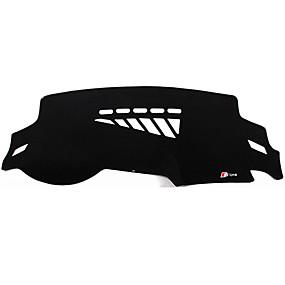 economico Tappetini interni auto-Settore automobilistico Dashboard Mat Tappetini interno auto Per Audi 2016 2015 2014 2013 2012 2011 2010 2009 A4L