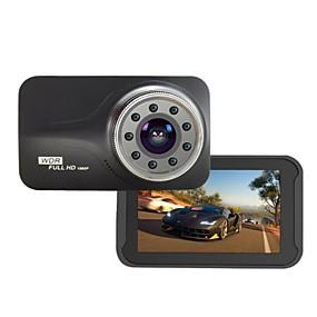 voordelige Auto DVR's-9 stks ir licht nachtzicht novatek ntk96223 fhd 1080 p g-sensor 170 graden 3 inch auto dvr t639 dash camera auto-detector