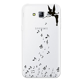 voordelige Galaxy J5 Hoesjes / covers-hoesje Voor Samsung Galaxy J7 (2017) / J7 (2016) / J7 Patroon Achterkant Sexy dame / Cartoon Zacht TPU