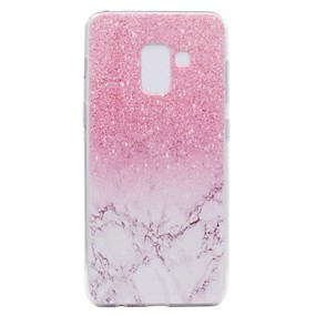 voordelige Galaxy A3(2016) Hoesjes / covers-hoesje Voor Samsung Galaxy A3 (2017) / A5 (2017) / A7 (2017) Transparant / Patroon Achterkant Marmer Zacht TPU