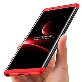 voordelige Galaxy S7 Hoesjes / covers-hoesje Voor Samsung Galaxy S8 Plus / S8 / S7 edge Schokbestendig / Ultradun Volledig hoesje Effen Hard Muovi