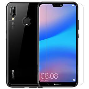 رخيصةأون Huawei P20 Lite-Nillkin حامي الشاشة إلى Huawei Huawei P20 lite PET 3 قطع الأمامي والخلفي وكاميرا عدسة حامي نحيل جداً / غير لامع / مقاومة الحك