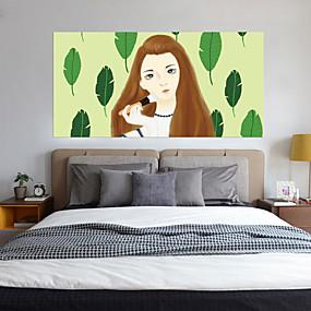 Недорогие Декоративные стикеры-Декоративные наклейки на стены - Люди стены стикеры 3D Гостиная Спальня Ванная комната Кухня Столовая Кабинет / Офис