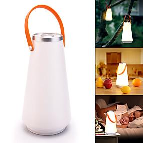 olcso Zseblámpák-Lámpások & Kempinglámpák LED LED Sugárzók 1 világítás mód Hordozható Kempingezés / Túrázás / Barlangászat Mindennapokra Fehér