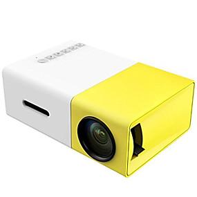 billige Projektorer-YG300 LCD LED Projektor 400 lm Support 1080P (1920x1080) 24-60 inch / QVGA (320x240)