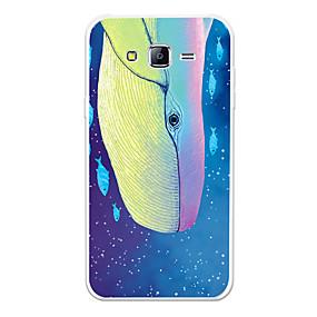 voordelige Galaxy J5 Hoesjes / covers-hoesje Voor Samsung Galaxy J7 (2017) / J7 (2016) / J7 Patroon Achterkant dier / Cartoon Zacht TPU