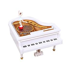 olcso Klasszikus játékok-Zenedoboz Zongora Forgatható Műanyag Klasszikus Romantikus Gyerekek Nő Játékok Ajándék