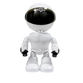 tanie Bezpieczeństwo-hiseeu hd bezprzewodowa kamera ip wi-fi robot kamera 1080 p wifi noktowizor kamera sieciowa IP cctv dwukierunkowa audio