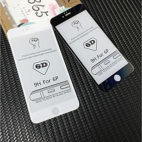 abordables Protections Ecran pour iPhone 6s / 6 Plus-Protecteur d'écran pour Apple iPhone 6s Plus / iPhone 6 Plus Verre Trempé 1 pièce Ecran de Protection Avant Haute Définition (HD) / Dureté 9H / Coin Arrondi 3D
