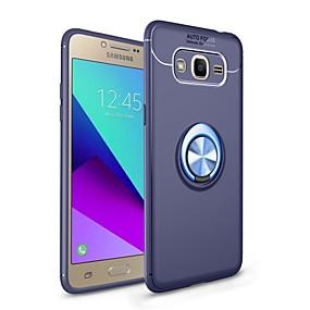 voordelige Galaxy J7(2017) Hoesjes / covers-hoesje Voor Samsung Galaxy J7 Prime / J7 (2017) / J7 (2016) met standaard / Ringhouder / Magnetisch Achterkant Effen Zacht TPU