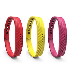 voordelige Dagaanbiedingen-Horlogeband voor Gear Fit 2 Fitbit Sportband Silicone Polsband