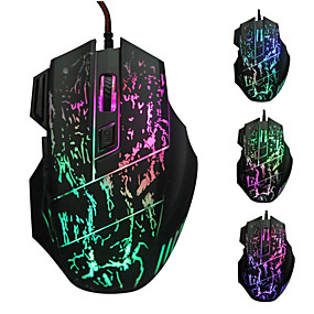 cheap Mice & Keyboards-LITBest LOL Wired USB Gaming Mouse Led Light 4 Adjustable DPI Levels Keys 6 Programmable Keys