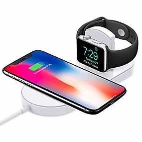 cheap Featured-Cwxuan Wireless Charger USB Charger with Cable / QC 3.0 / Quick Charger 1A DC 9V / DC 5V for iPhone XS / XS Max / XR / X / iPhone 8 / Plus / iWatch