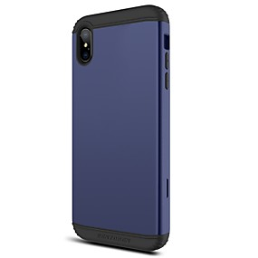 levne iPhone pouzdra-BENTOBEN Carcasă Pro Apple iPhone XR / iPhone XS Max Nárazuvzdorné Celý kryt Jednobarevné Pevné TPU / PC pro iPhone XR / iPhone XS Max