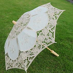 Недорогие Защита от дождя-Специальный материал Жен. Солнечный и дождливой Складные зонты