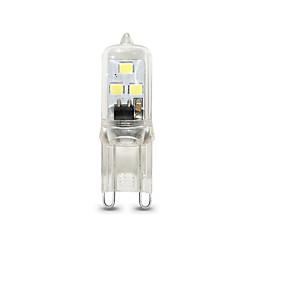 Χαμηλού Κόστους Φωτιστικά LED δυο ακίδων-1pc 1 W LED Φώτα με 2 pin 100 lm G9 T 6 LED χάντρες SMD 2835 Με ροοστάτη Θερμό Λευκό Ψυχρό Λευκό 220 V