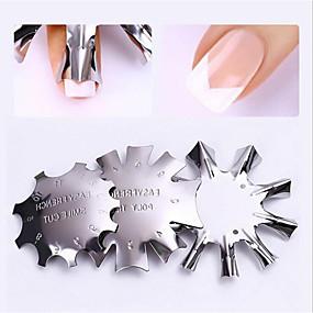 billige Kæledyr, Legetøj og hobbyartikler-3stk Rustfrit Stål Nail Art Drill Kit Til Multifunktionel / Holdbar Negle kunst Manicure Pedicure Trendy / Mode Daglig
