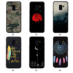voordelige Galaxy A5(2016) Hoesjes / covers-hoesje Voor Samsung Galaxy A5(2018) / A6 (2018) / A6+ (2018) Patroon Achterkant Woord / tekst / Landschap / Dromenvanger Zacht TPU