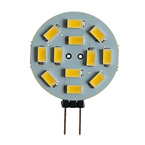 abordables Luces LED de Doble Pin-SENCART 1pc 5 W Luces LED de Doble Pin 360 lm G4 MR11 T 12 Cuentas LED SMD 5630 Decorativa Blanco Cálido Blanco 12 V