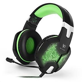 Χαμηλού Κόστους Αξεσουάρ Η/Υ & Tablet-KOTION EACH G1000 Κεφαλόδεσμος Καλώδιο Ακουστικά Κεφαλής Ακουστικό / Ακουστικά PP+ABS Ηλεκτρονικό Παιχνίδι Ακουστικά Με Μικρόφωνο / Με Έλεγχος έντασης ήχου Ακουστικά