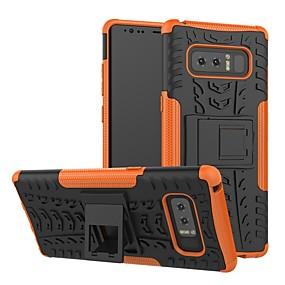 halpa Galaxy S -sarjan kotelot / kuoret-Etui Käyttötarkoitus Samsung Galaxy S9 Plus / S8 Plus Iskunkestävä / Tuella Takakuori Geometrinen printti Kova Silikoni / PC varten S9 / S9 Plus / S8 Plus
